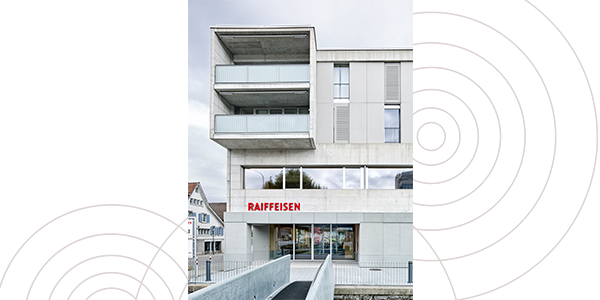 PV- Anlage Raiffeisenbank Gossau-Niederwil