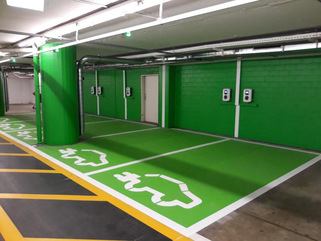 Elektromobilität – Unsere Lösung für Tiefgaragen