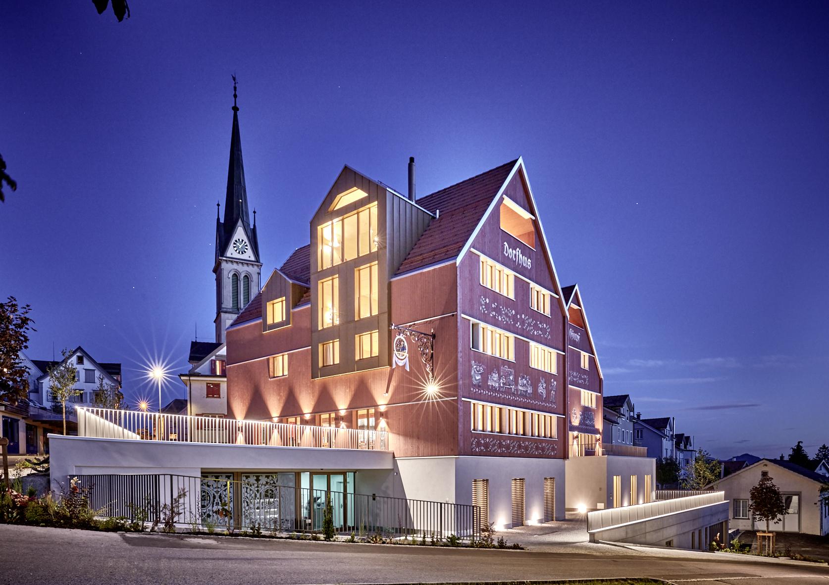 Restaurant & Hotel Dorfhus Gupf